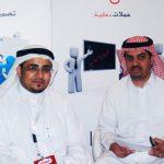 زيارة الأخ سعود الهواوي لجناح وكالة أفكاري