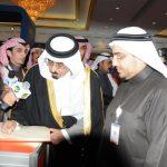 زيارة الأمير سعود الكبير لجناح وكالة أفكاري